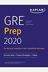 GRE Prep 2020: Practice Tests + Proven Strategies + Online (Kaplan Test Prep) Kindle Edition