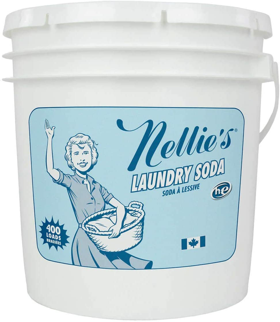 All-Nautral Laundry Soda 400 Loads (14 lbs/6.3kg) Hypo-Allergenic Eco-Friendly He Washer Friendly