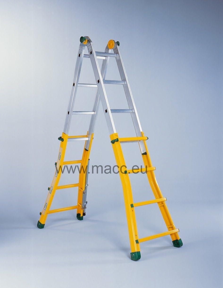 escamac – Escalera profesional multifunción – Macc: Amazon.es: Bricolaje y herramientas