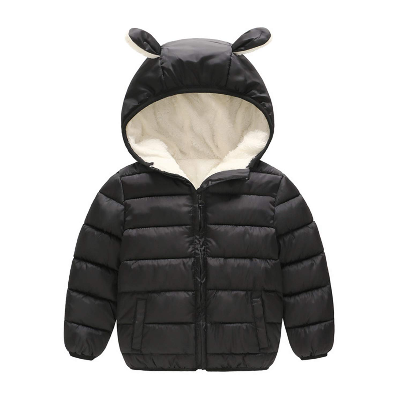 b98303526 Amazon.com  Children Boys Winter Coats Cotton Warm Fleeve Velvet ...
