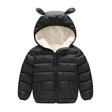 4304b4338 Amazon.com  Children Boys Winter Coats Cotton Warm Fleeve Velvet ...