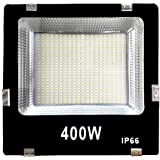 Gesto 400 Watt Ultra Thin Slim Ip66 LED Flood Outdoor Light Cool White Waterproof- 400W