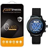(2 Pack) Supershieldz for Michael Kors Access MKGO Smartwatch Tempered Glass Screen Protector, (MKT5070, MKT5071, MKT5072, MKT5073, MKT5094) Anti Scratch, Bubble Free