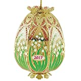 Beacon Design by ChemArt 2017 Trellis Egg Ornament
