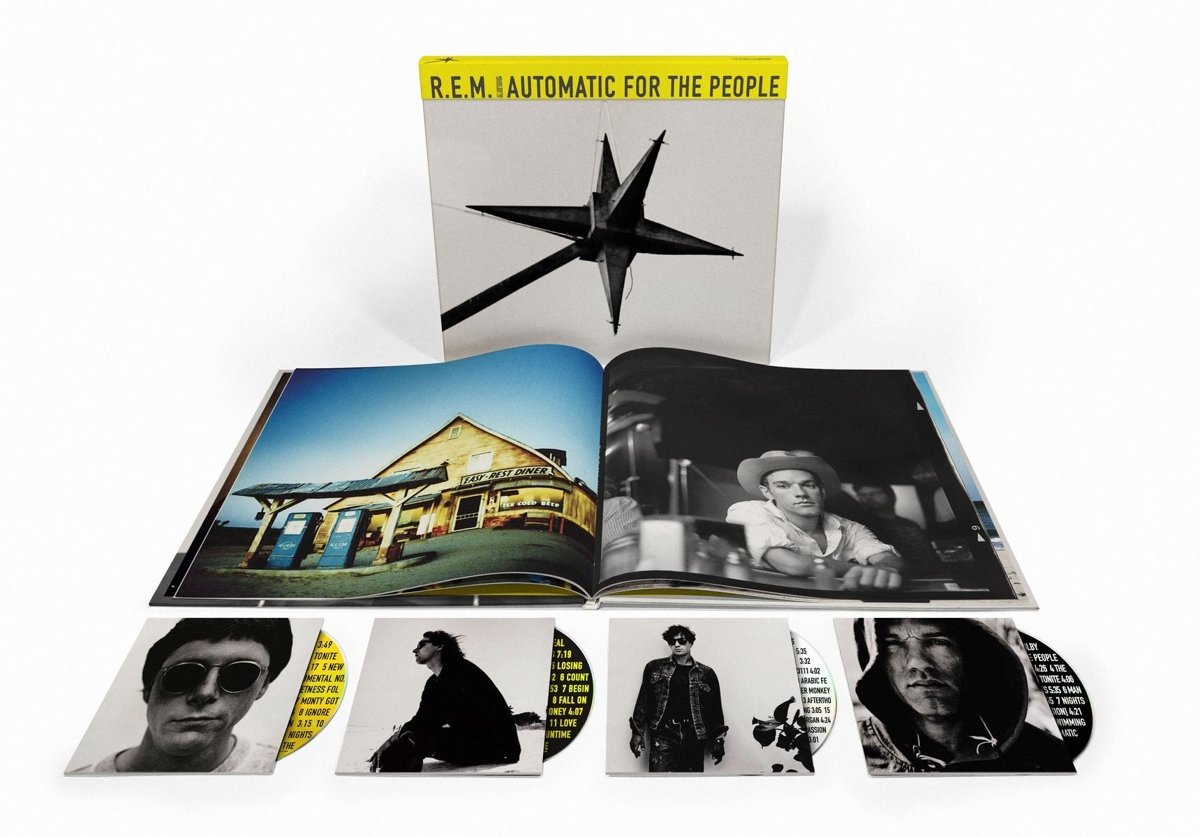 AUTOMATIC FOR THE PEOPLE [3CD+BLURAY+BOOK BOX] (25TH ANNIVERSARY, 60-PAGE BOOK WITH PHOTOS, EXPANDED LINER NOTES/INTERVIEWS)