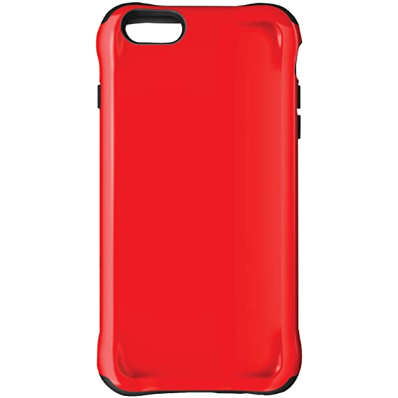 reputable site 6bbac 77490 Ballistic Urbanite Case for iPhone 6 Plus 5.5-Inch and iPhone 6s Plus  5.5-Inch - Retail Packaging - Red/Black