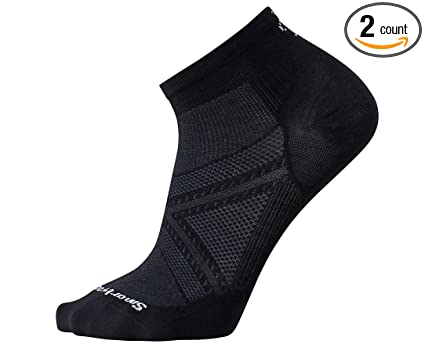 01befc09a83f Image Unavailable. Image not available for. Color: Smartwool Men's PhD Run  Ultra Light Low Cut Socks ...