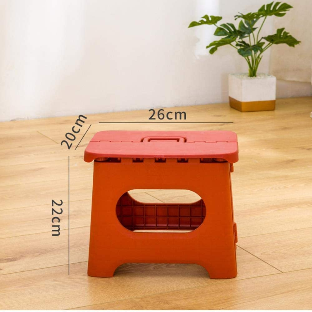 Ksde Stool Folding Seat Essential Stools For Outdoor Travel Home Chair Hiking Fishing Plastic Stool,Package B Green Package C 1