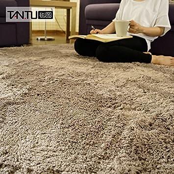 BLZZR*dicken Japanischen Honig Pfirsiche Fusselfreien Der Teppich Der  Schlafzimmer Plüsch Farbe Schlafsofa Und Zimmer