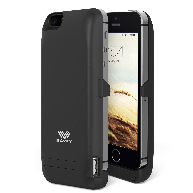 Funda Batería iphone 5 / 5s , SAVFY Case carcasa Con Batería ...