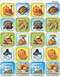 Teacher Created Resources Thanksgiving Stickers, Multi Color (1255)