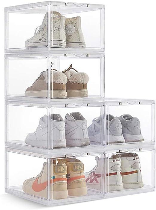 Zapato De Almacenamiento Apilable Caja Transparente, Zapatos Gota ...