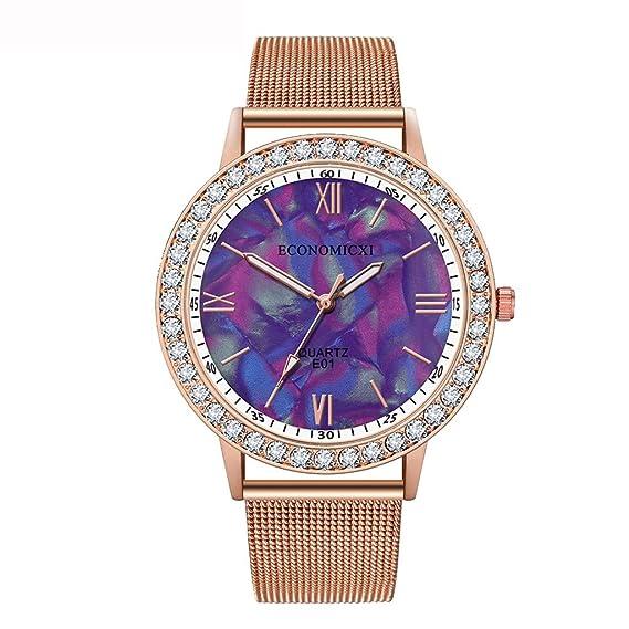 DAYLIN Relojes Mujer de Moda Reloj Pulsera Analogico de Cuarzo ...