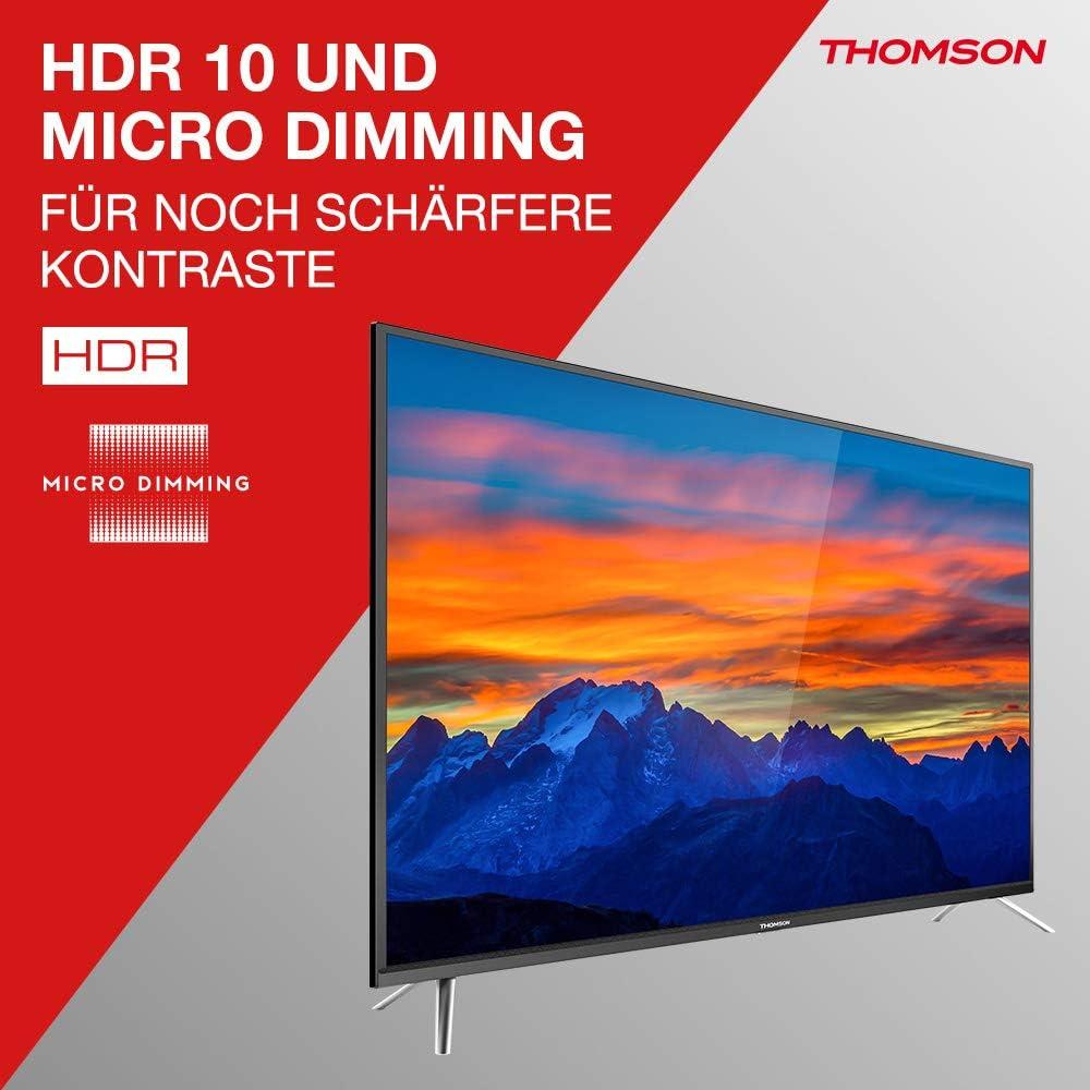Televisore Thomson TV LED Serie UE64 4K UHD Android TV: Amazon.es: Electrónica