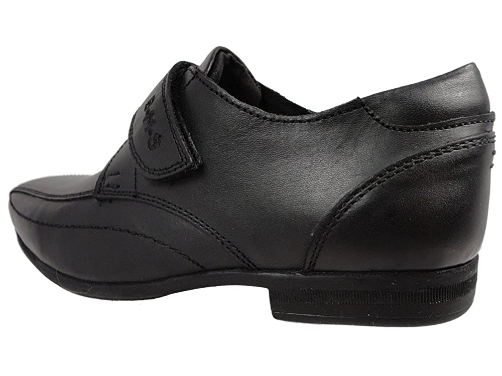 Buckle My ShoeBarnes/Rush - zapatos para uniforme escolar para chico , color negro, talla 33 EU