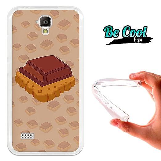 2 opinioni per BeCool® Fun- Custodia Gel Flessibile Huawei Y5- Y560 Cover TPU prodotto col