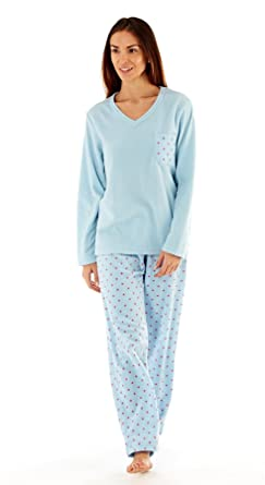 97932752e8 Ladies Stars Fleece Pyjamas Set