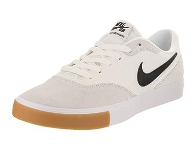 Nike Men's Paul Rodriguez 9 VR Summit White/Black/Black Skate Shoe 8 Men