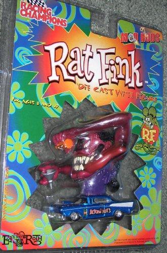 Big Daddy Ed Roth Rat Fink Blue Die Cast Car