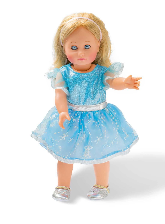 Gr/ö/ße 35-45 cm Eis-Prinzessin Heless 2720 Puppenkleid