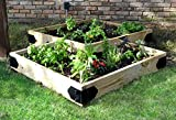 OZCO Raised Bed Garden Hardware kit Great for growing flowers herbs vegetables