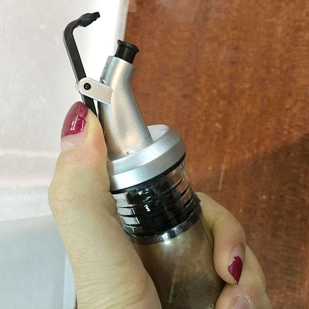 Laileya Beccuccio Bottiglia di liquore Dispenser di Oliva spruzzatore Pourers Wine Stopper Flip Top Utensili da Cucina
