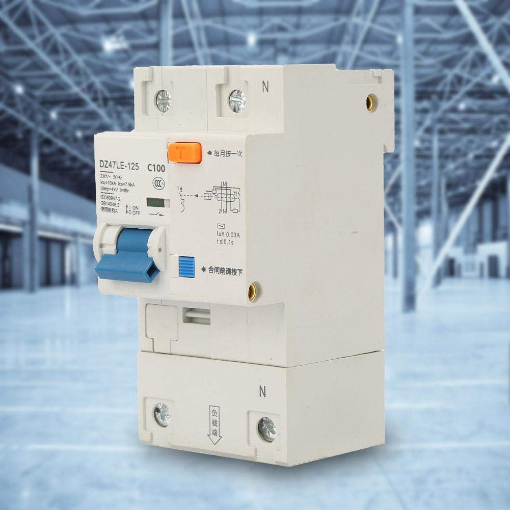 with Stable and Reliable Performance 100A Leakage Protection Switch Current Circuit Breaker,Composed of Electronic Components