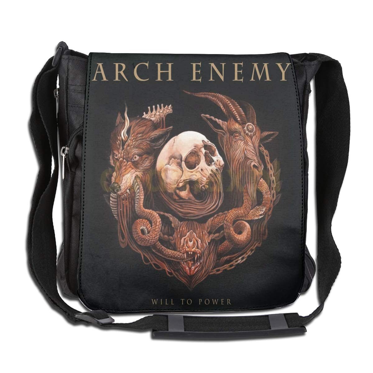 Arch Enemy Large Capacity Messenger Bag Shoulder Bag Simple Fashion Personality