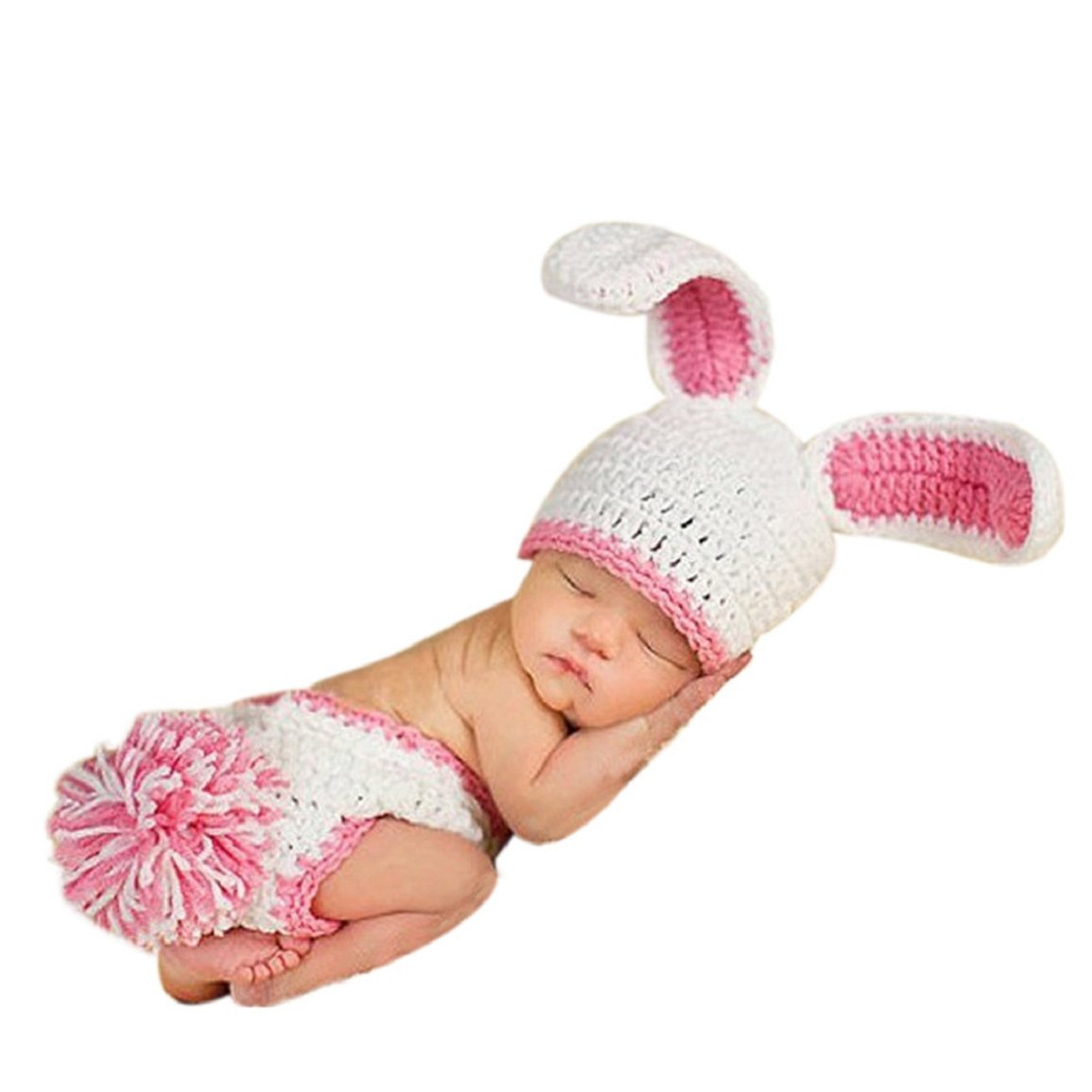 Changeshopping Infant Outfit Crochet Knitted Cap Costume Photography Prop Changeshopping 545