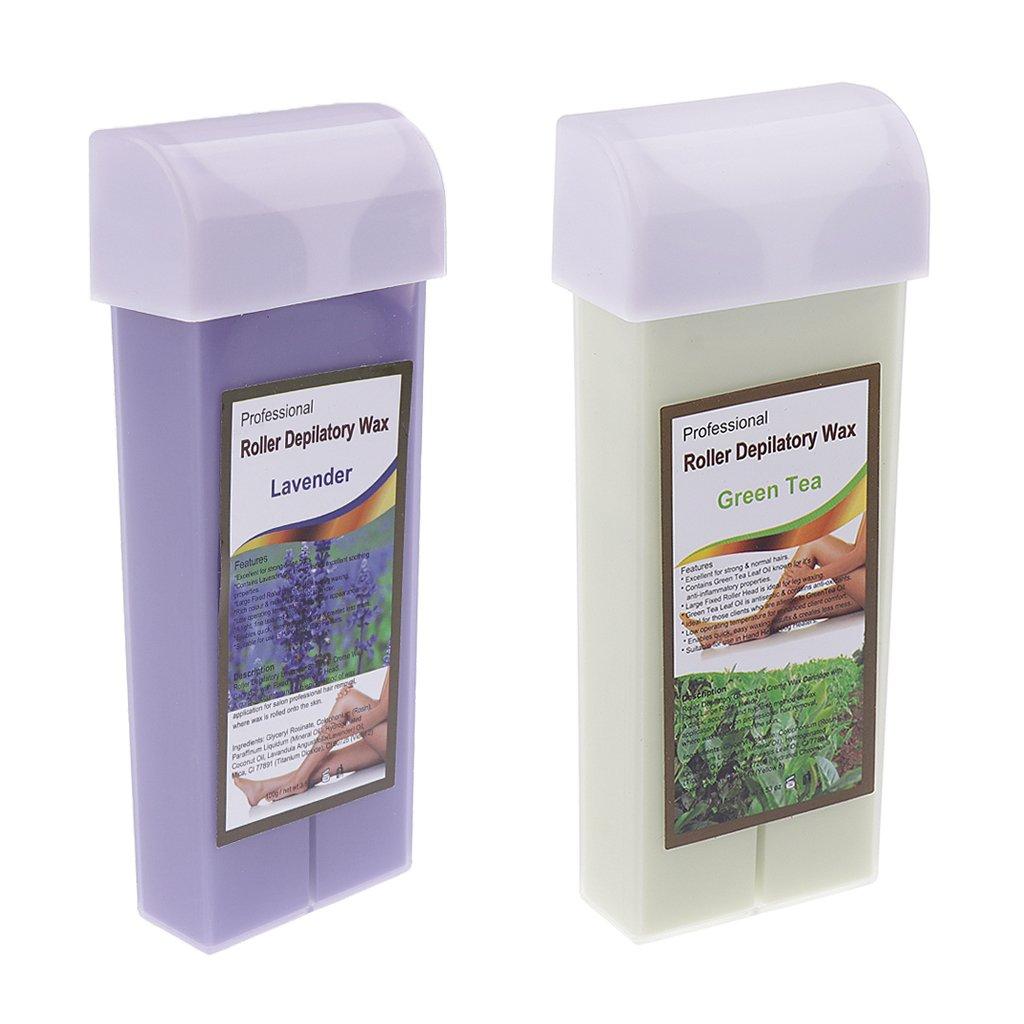 Amazon.com: D DOLITY 2 x 100g Roll-on Warm Wax Cartridge Waxing Kit For Eyebrow Lip Arm Armpit Leg And Bikini Hair Removal: Health & Personal Care