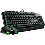 Cooler Master Devastator II - Green LED Gaming Keyboard & Mouse Combo (SGB-3032-KKMF1-US)