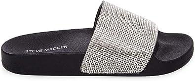 big sale online shop los angeles Madden Girl Women's Fancy Slide Sandal, Black Paris, 5.5 M US ...