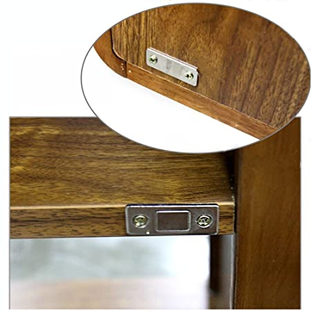 2pcs Ultra Thin Magnetic Cabinet Cupboard Glass Door Catch Latch