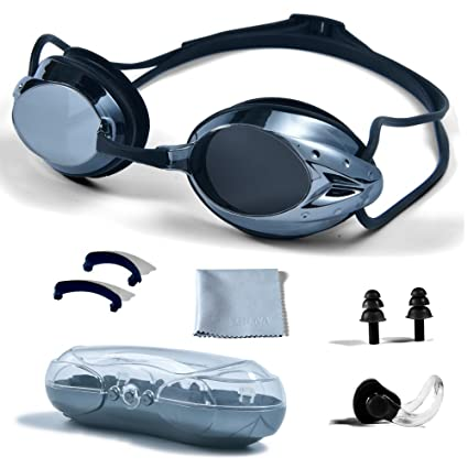 605c35f01287 Amazon.com   PHELRENA Swimming Goggles