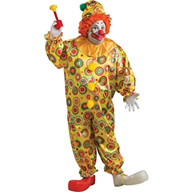Amazon.com: Jack the Jolly Clown Plus Size Costume: Clothing