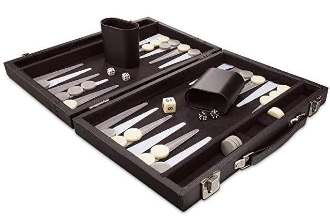 Collectors Backgammon Game with Carrying Case