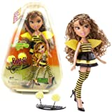 MGA Entertainment Bratz Costume Party Series 10 Inch Doll - YASMIN in Bumblebee Outfit with Earrings and Bonus Costume Access