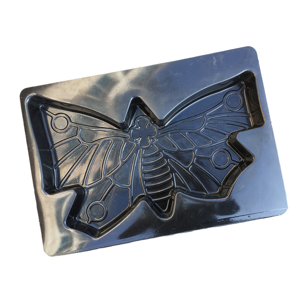 Flameer Butterfly Paving Mould Concrete Stepping Stone Road Mold Garden Decoration
