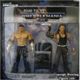 Matt & Jeff Hardy Road To Wrestlemania 23 Action Figures