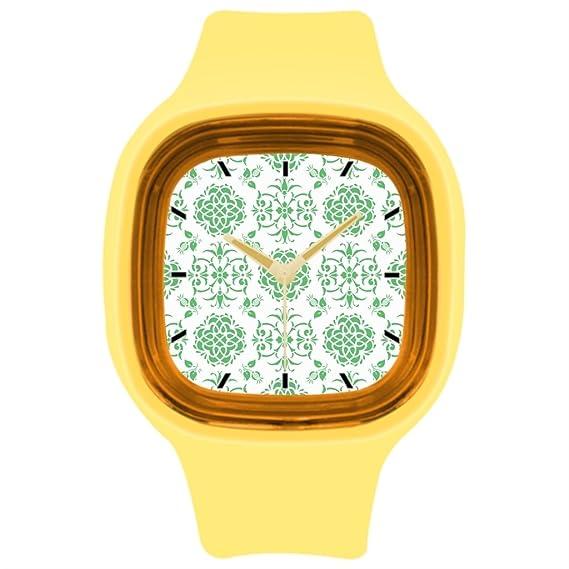 kosmore deportes reloj de pulsera, Verde tiendas para mujer reloj deportivo amarillo: Amazon.es: Relojes