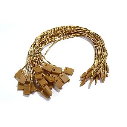1000 piezas de sujetadores de corbata con cierre a presión para ...