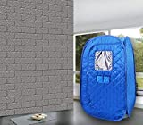 Portable Sauna Tent, Foldable One Person Full Body