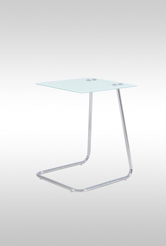 Beistelltisch glas weiß  Jan Kurtz Beistelltisch Classico Glas weiss: Amazon.de: Küche ...