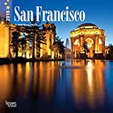 San Francisco 2018 7 x 7 Inch Monthly Mini Wall Calendar, USA United States of America California Pacific West City (Multilingual Edition)