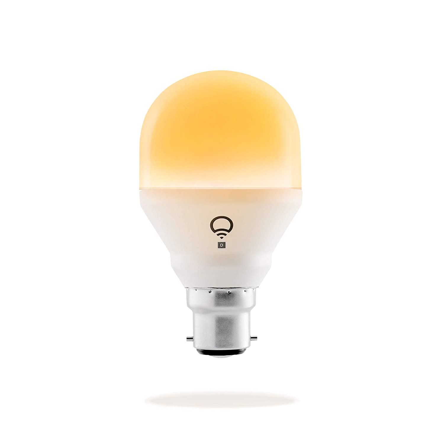 LIFX Mini Day & Dusk (B22) Wi-Fi Smart LED Light Bulb adjustable, dimmable, no hub required, works with Alexa, Apple HomeKit and the Google Assistant L3A19MTW08B22