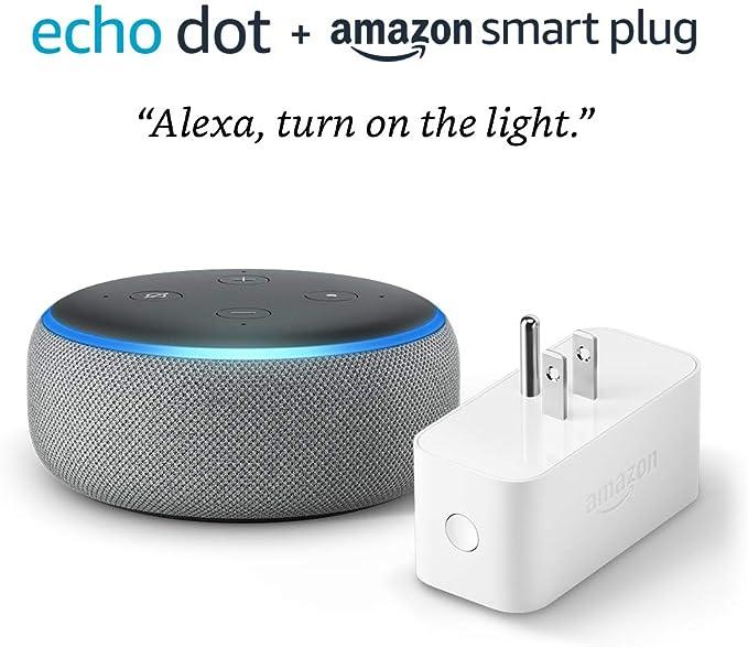 Echo Dot bundle with Amazon Smart Plug