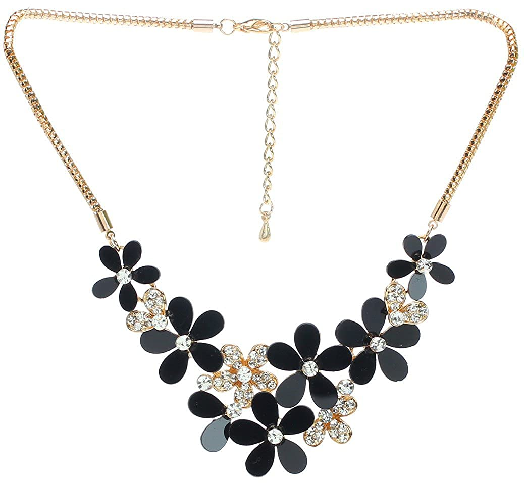 Royal Diamond Floral Garden Necklace
