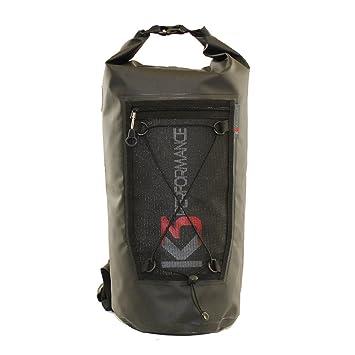 Amazon.com: K3 Evolve impermeable seco bolsa mochila negro ...