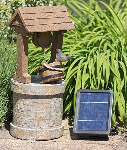 Fuente Solar Pozo de los Deseos: Amazon.es: Jardín