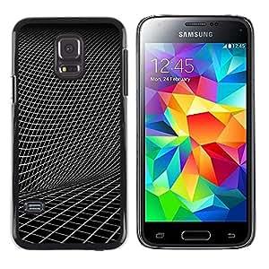 iKiki Tech / Estuche rígido - Abstract Geometry - Samsung Galaxy S5 Mini, SM-G800, NOT S5 REGULAR!